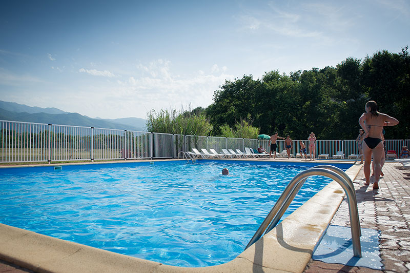 Camping piscine chauffée ceret